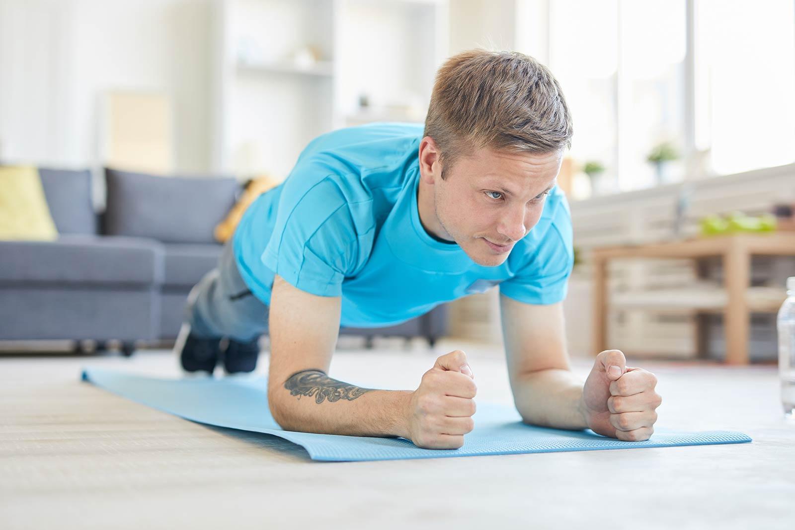 Home workout with Shaka Lifestyle Coaching
